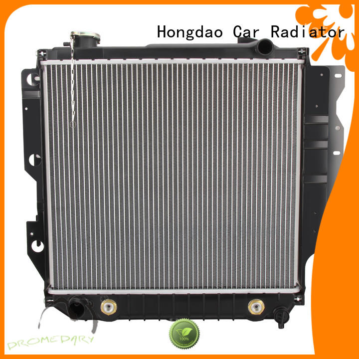 Dromedary aluminum 2007 dodge charger radiator directly sale for car