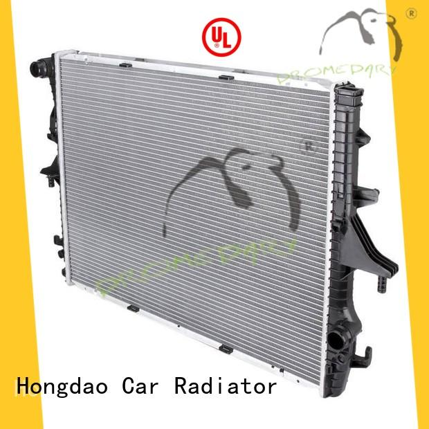 Dromedary long lasting porsche radiator actory direct supply for porsche